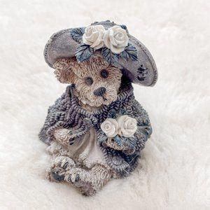 Boyd's Bears Vintage Stop & Smell The Roses Bear Figurine